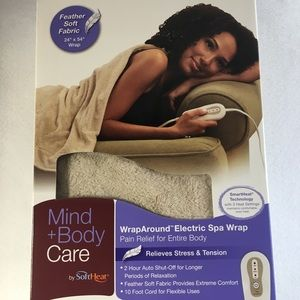 "Wrap Around Electric Spa Wrap 24 x 54"" Soft Fabric"